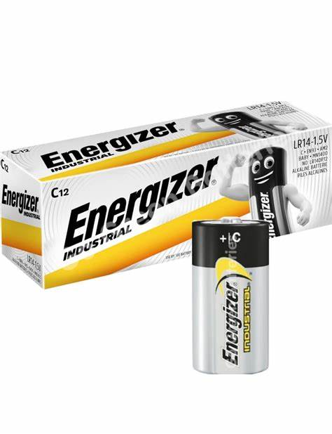 Battery C Size Industrial (10) ENERGIZER