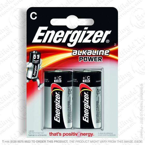 E05) Battery C Alkaline Power (2) ENERG