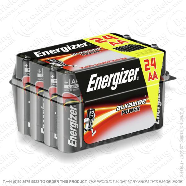 E05) Battery AA Alka Family Pack Box (24) ENE