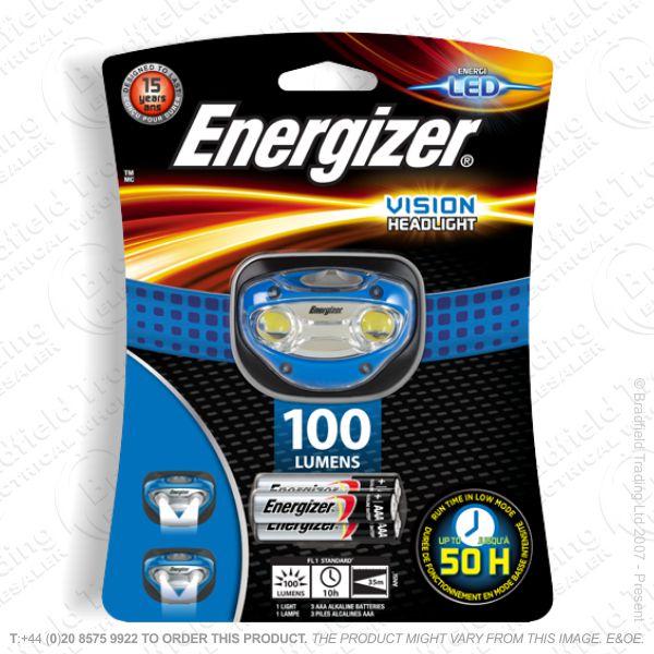 E43) Headlight 100lm 3xAAA Vision ENERGIZER