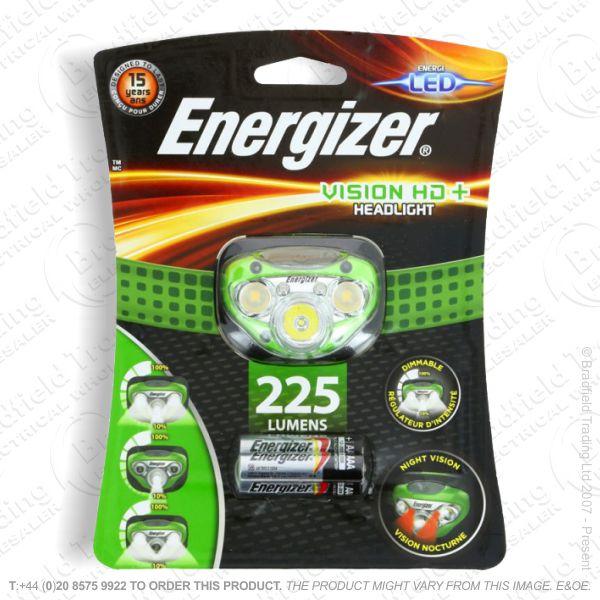 E43) Headlight 250lm 3xAAA Vision ENERGIZER