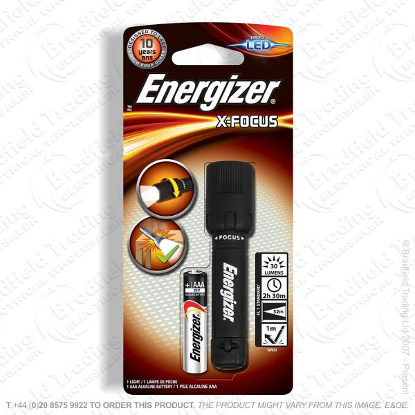 E42) Mini Focusing 1AAA Torch Energizer