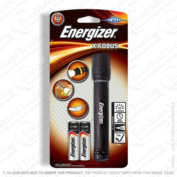 E42) Focusing 2AA Torch Energizer