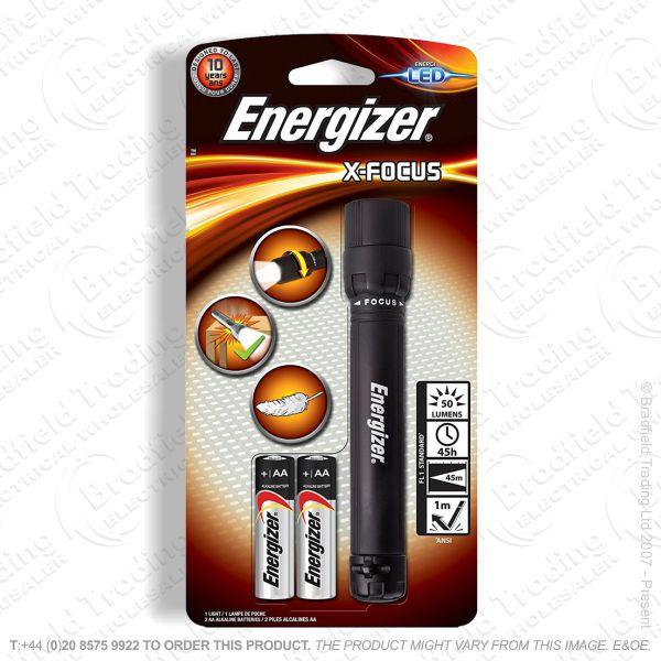 E42) Focusing 2AA Torch X-Focus Energizer