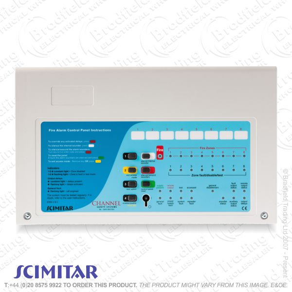 I06) Fire Alarm 2Zone 2wire Kit SCIMITAR