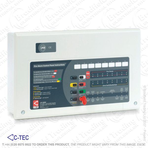 I06) Fire Alarm 2Zone 2wire Kit C-Tec ECO