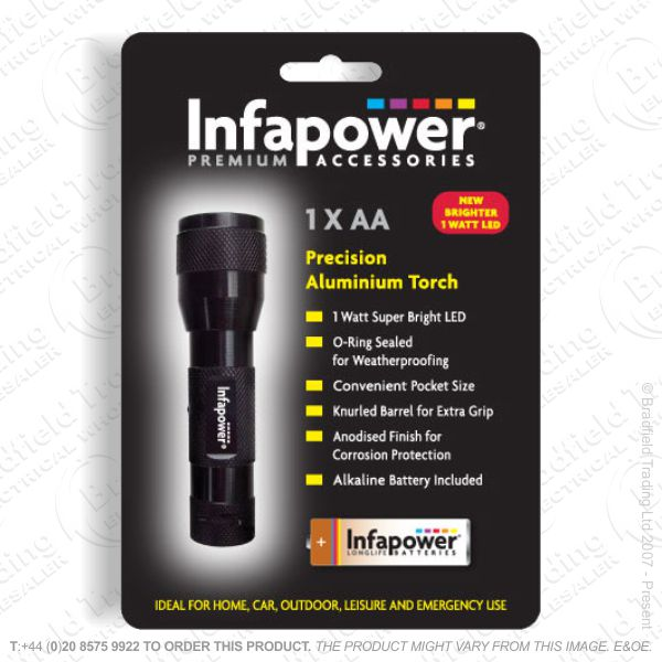 E42) 1AA Precision Alum Torch INFAPOWER