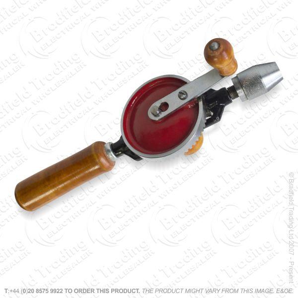 G28) Hand Drill 2pc 1/4 Chuck AMTECH