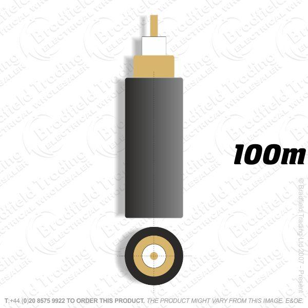 H09) Digital CT100 Black 100M Satelite