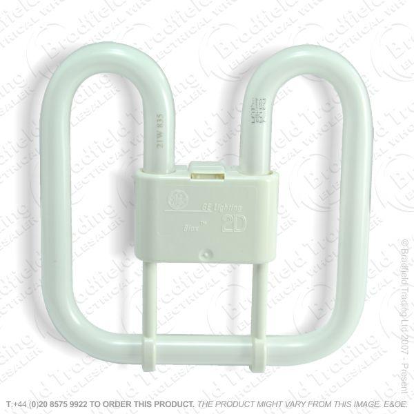 A66) 2D 2pin c835 16W White Lamp CROMPTON