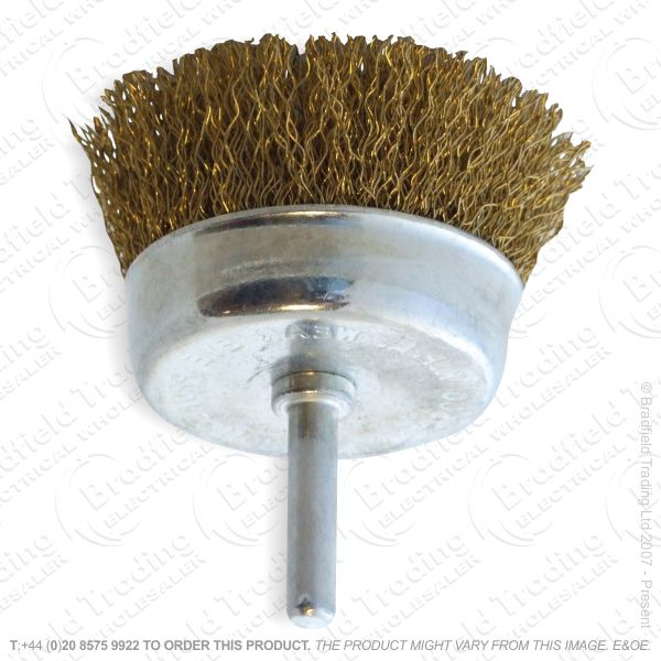 G30) Drill Cup Wire Brush 3  AMTECH