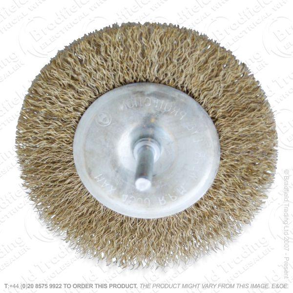 G30) Wire Wheel Brush 4  AMTECH