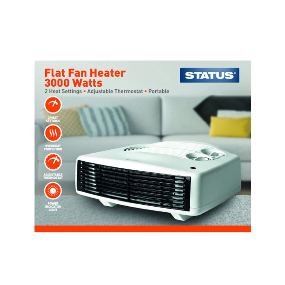 Heater Fan 3kw Flat STATUS
