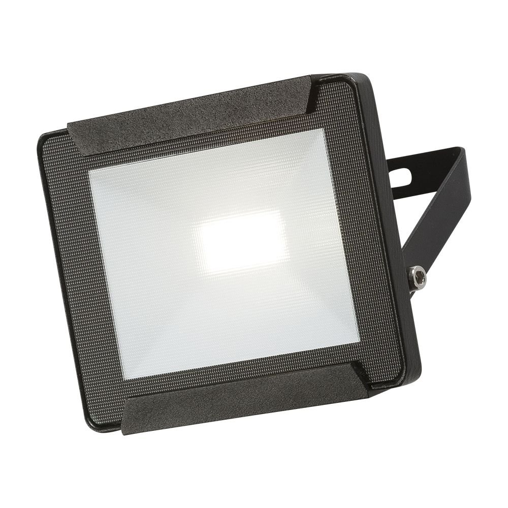 Black LED Floodlight 10W IP65 KNISBRIDGE