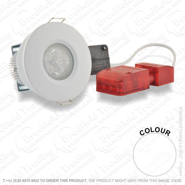 B28) Downlight LED 9Wc830 MattWhite