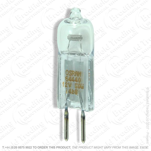 A52) Capsule G4 12V 20W Pk2 Blister STATUS