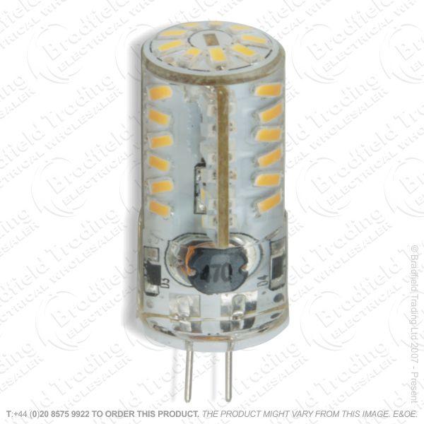 A45) 3W LED Capsule 12V G4 27k 42x16mm