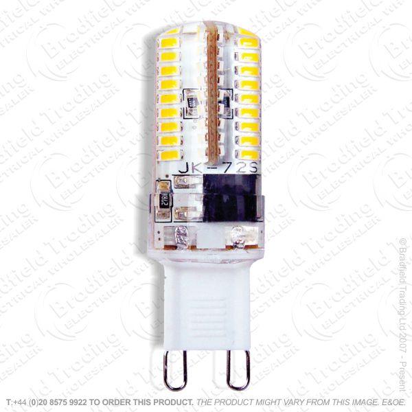 A46) 4W G9 Cap Bulb WW LED 27k 370lm KNI