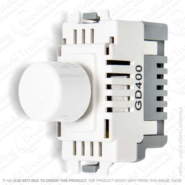 Grid Dimmer 400w Module  White NEXUS BG