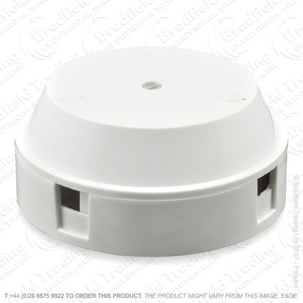 H24) Junction Box 5A 4termin 2x1.5mm white RG