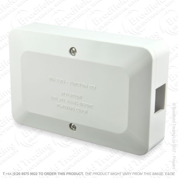H24) Junction Box 60A 3ter 3x2.5mm Brown