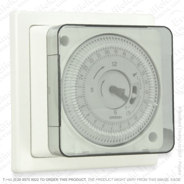 I10) Timer Switch Sec 7Day Mechanical