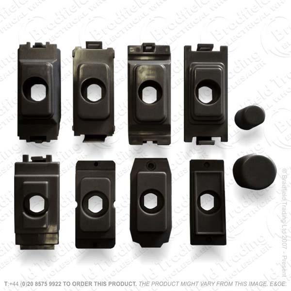 Grid Kit for Dimmer Module Black HAM