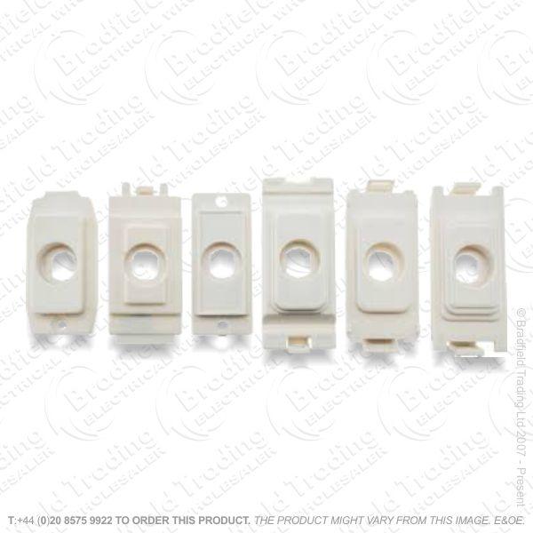 Grid Kit for Dimmer Module White HAM