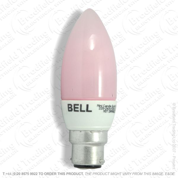 A16) Candle LEnergey Micro BC Pink 7W PRO