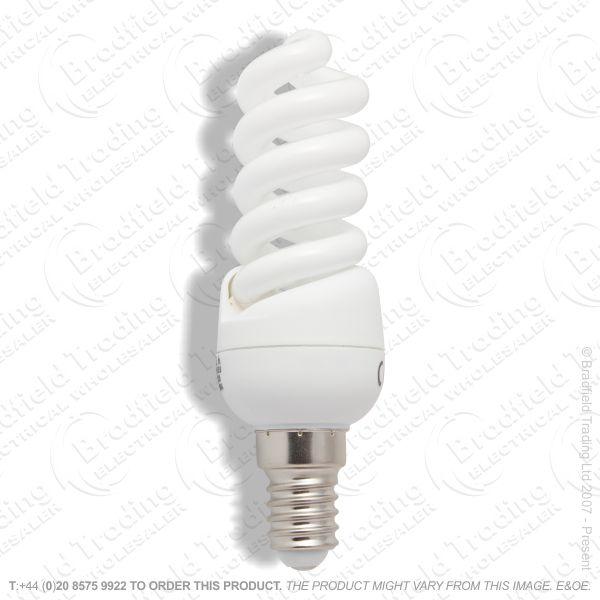 A13) Spiral Mini T3 SES WW c827 7W Warmwhite