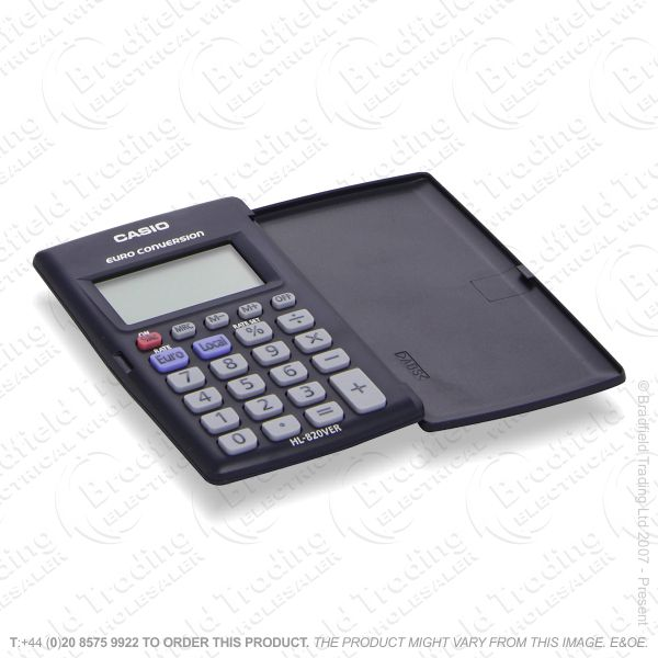 C25) Pocket Calculator CASIO Black