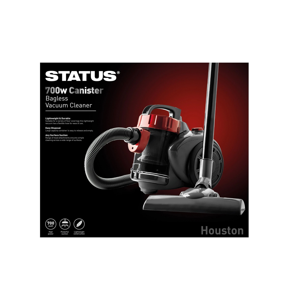 Cannister Bagless Vaccum Cleaner 700w Houston