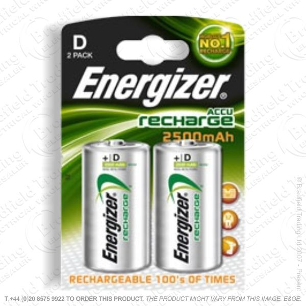 E10) Battery Rech D 1.2V 2500mAH ENE