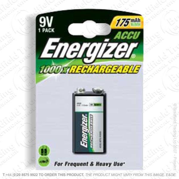 E10) Battery Rech PP3 9V 175mAH ENE
