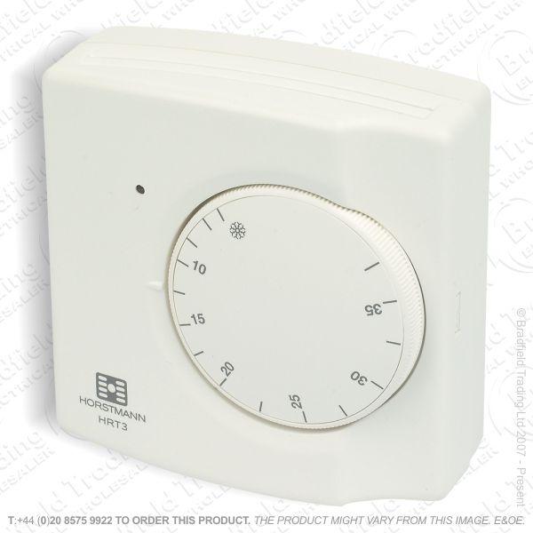 Thermostat Room Mains Mech HORSTMANN