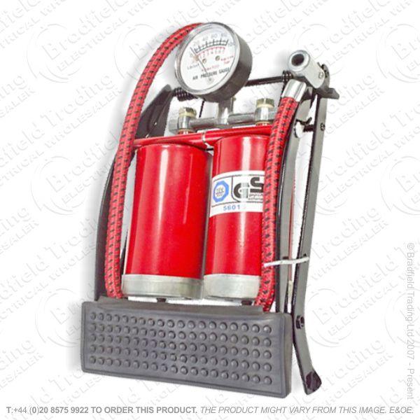 G54) Foot Pump Twin Cylinder AMTECH