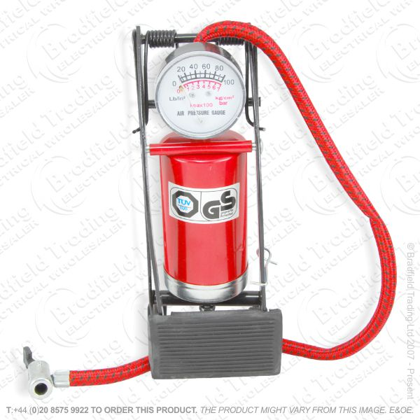 G54) Foot Pump Single Cylinder AMTECH