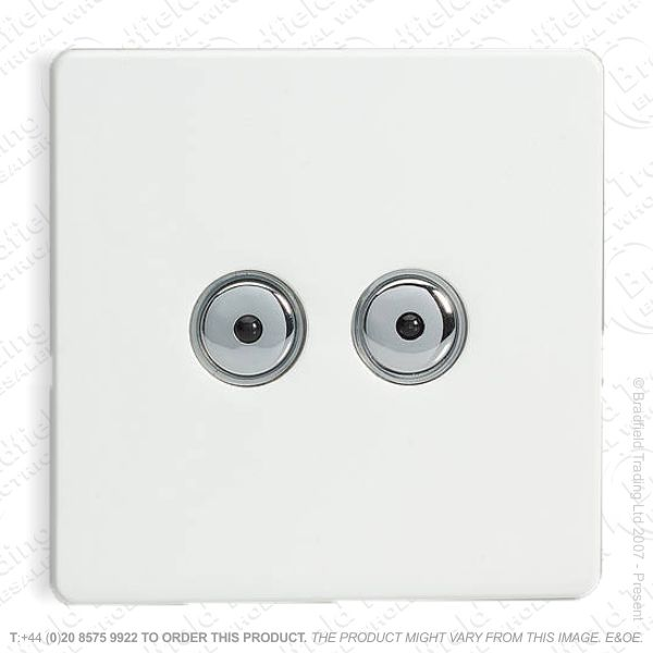 I26) Dimmer Remote BrushSteelFP2G400W VA