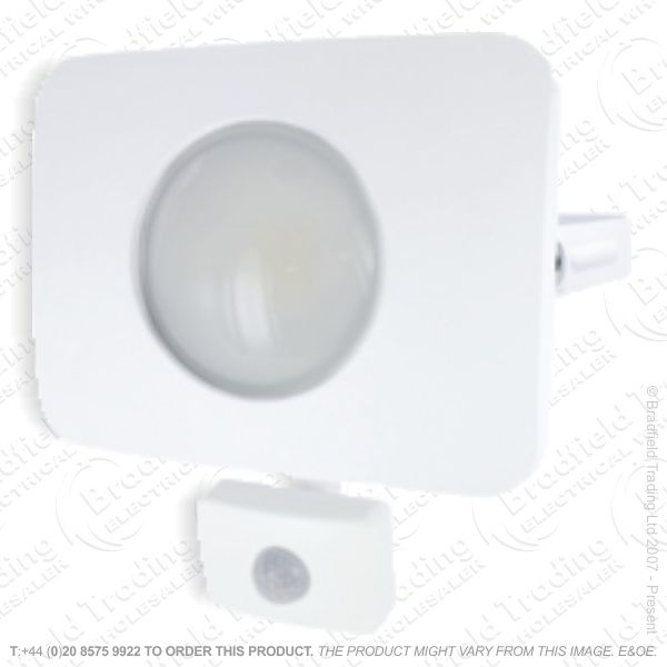 LED PIR Floodlight 20W White INTRG