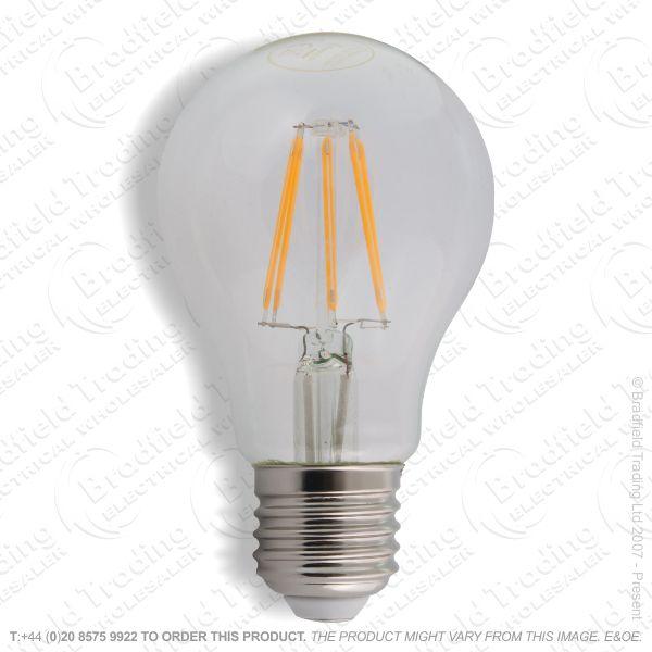 A19) 12W GLS Clear ES 27k LED Fil Dimm 1521lm