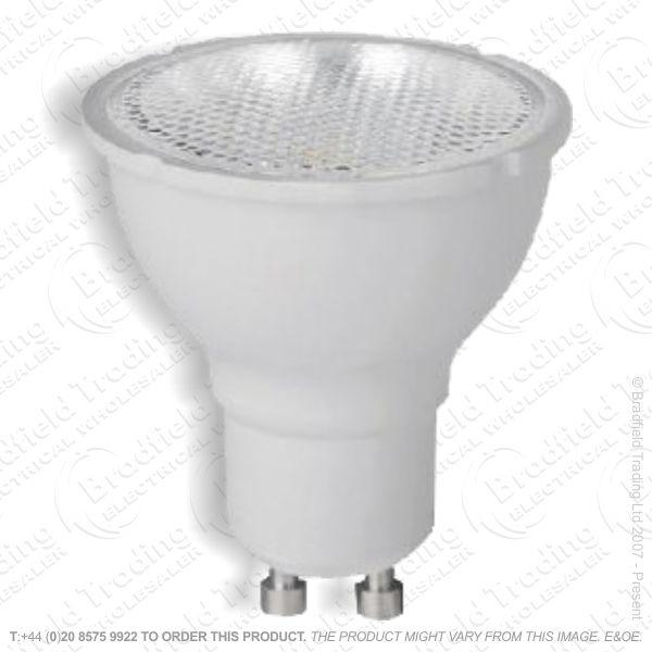 A37) LED 7W GU10 4K Cool 570lm Dim INT