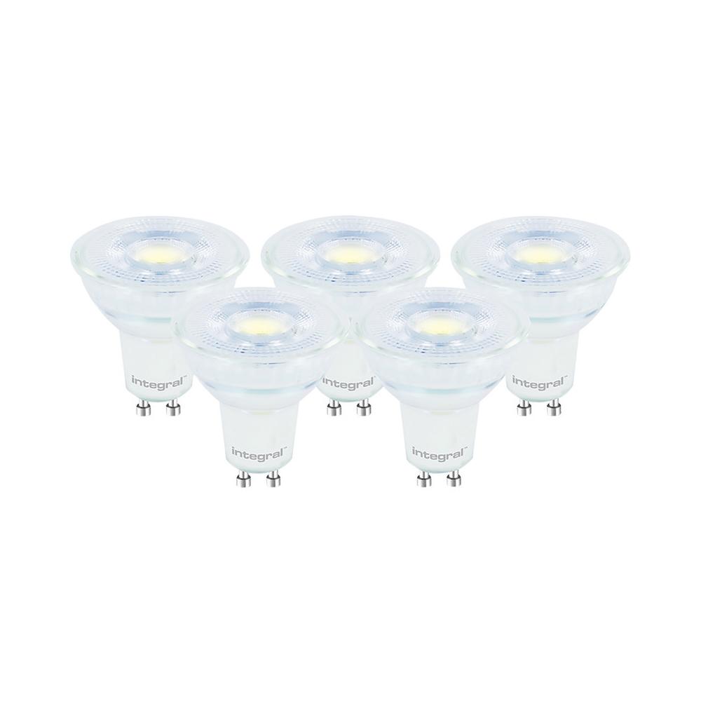 LED 4.7W GU10 27K Warm 410lm Pack5 INTEGRAL