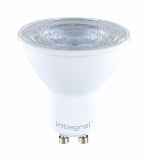 LED 4W GU10 65K Dayl 390lm Non-Dim INTEGRAL