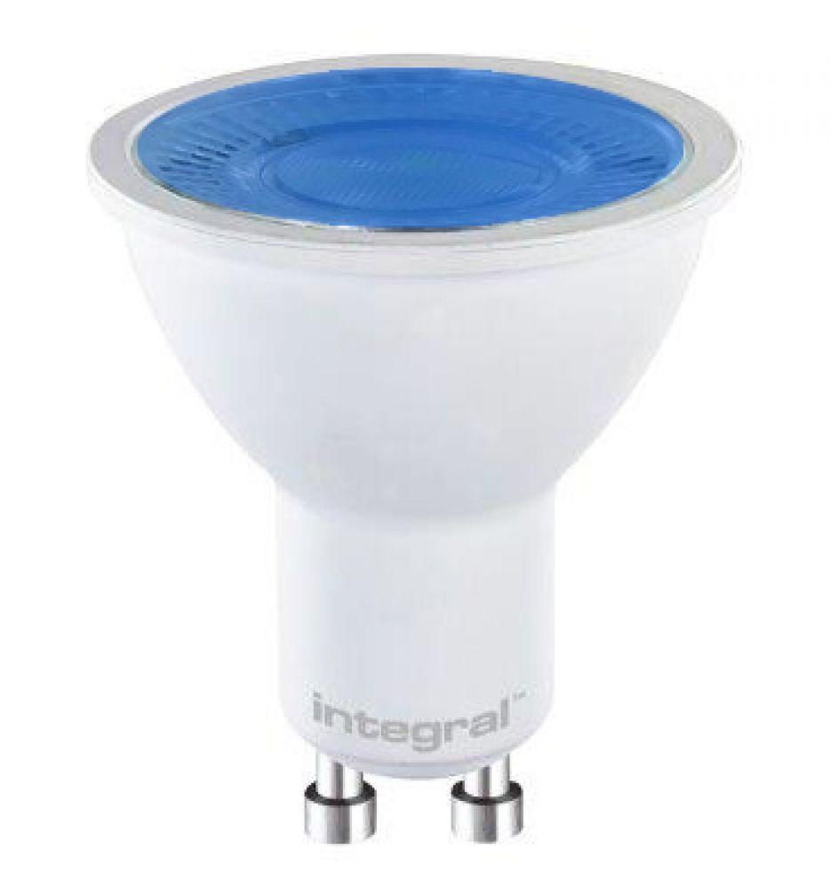 LED PAR16 5W GU10 Blue 240V INTEGRAL