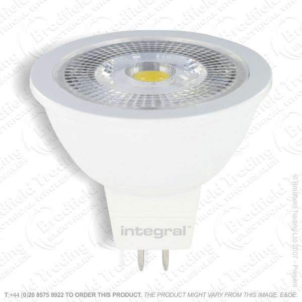 A43) LED MR16 4.6W 4k 420lm Dimmabl INTEGRAL