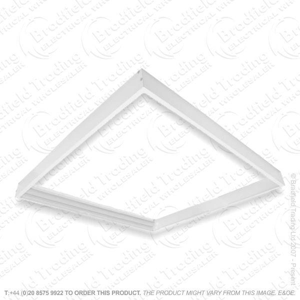 Surface Mount Frame for Edgelit Panel IN