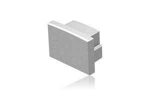 LED Recessed Profile End Cap