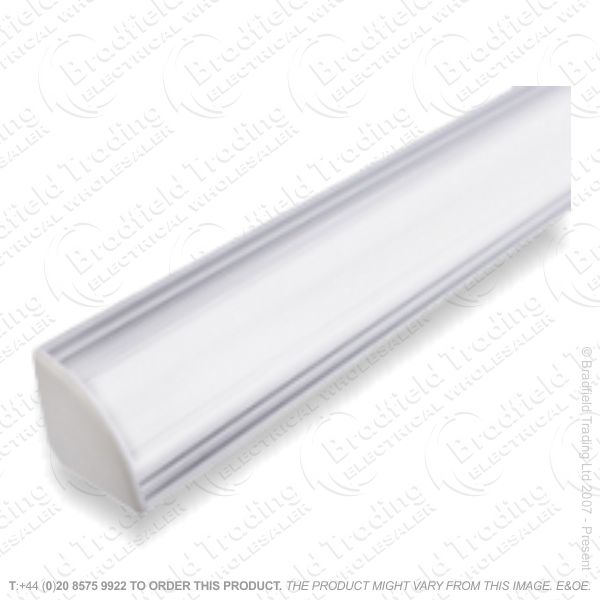 LED Recessd Profile 2M Frosted Corner