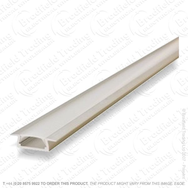 LED Recessd Profile 2M Frosted W22 D6