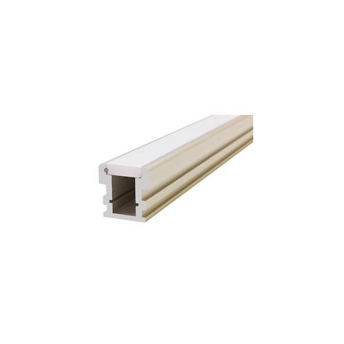 LED Reccesed Floor Profile 2M Frosted W21